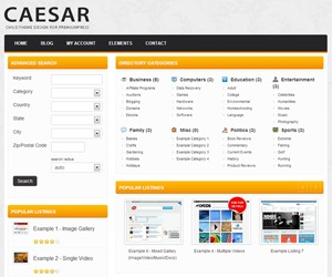 WP template Ceaser - PremiumPress Child Theme by Mark Fail