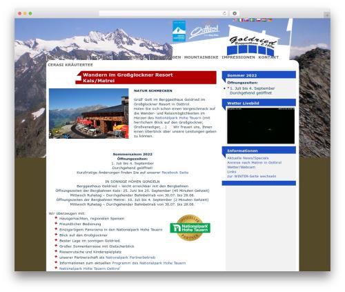 WP template deCoder - wandern.goldried.info/grossglockner-resort-kals-matrei/erlebnis