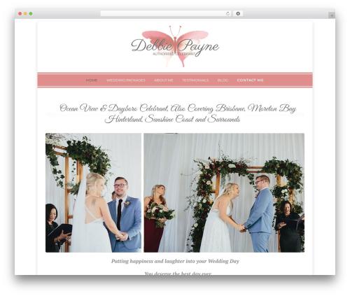 WordPress wpclef plugin - weddingcelebrantbrisbane.com.au