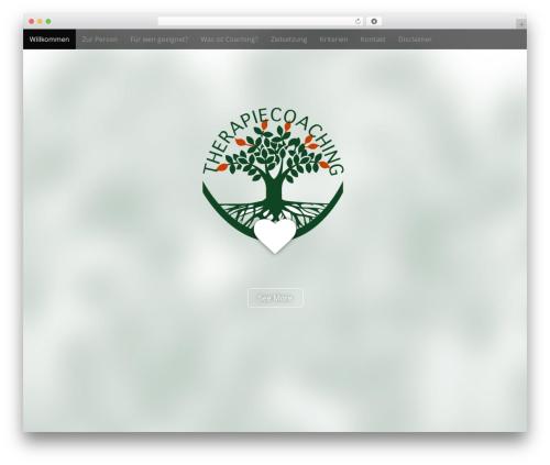 Arcade Basic free website theme - therapiecoaching.ch