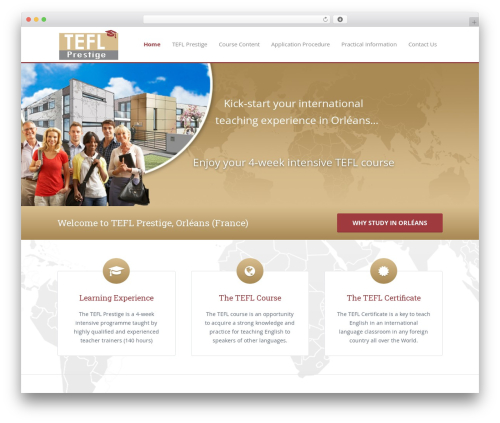 Astra best free WordPress theme - teflinfrance.com