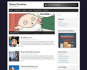 Basic WordPress Theme theme WordPress
