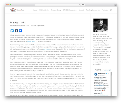Free WordPress Resume Builder plugin - thinkedtech.com