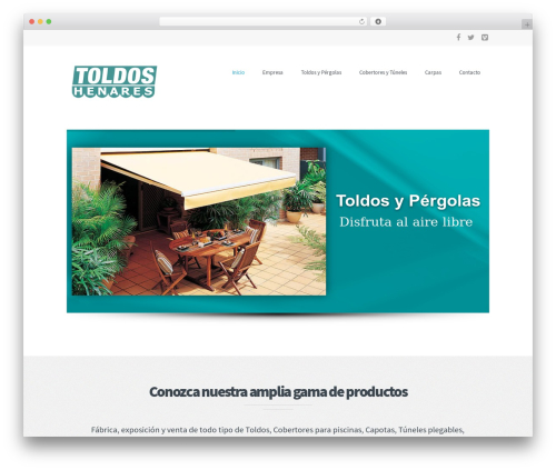 Best WordPress theme Extent - toldoshenares.com