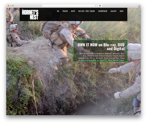 Black Label best WordPress template - thehornetsnestmovie.com