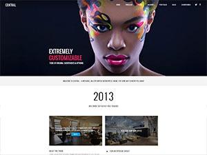 Central theme WordPress