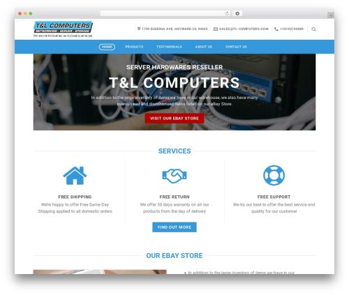 Flatsome WordPress theme - tl-computers.com