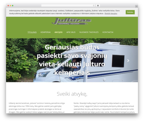 WordPress car plugin - travelcamper.eu