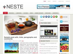 Neste WordPress theme