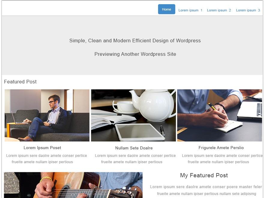 TemplateToaster WordPress blog template