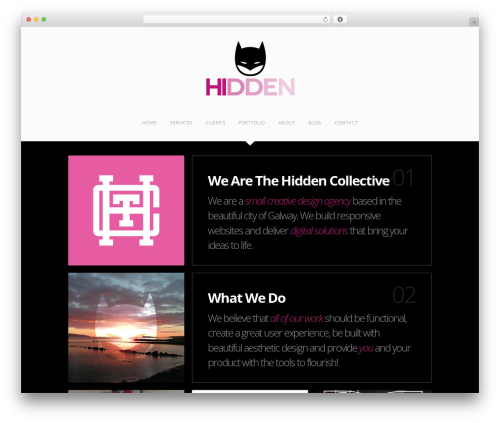 The Grid WordPress theme - thehiddencollective.com