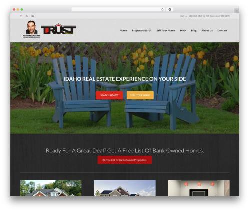 WordPress theme Enfold - trustidaho.com