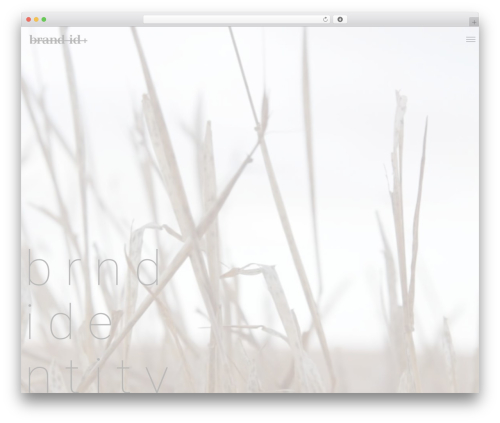 WordPress theme Semplice - thepush.ca