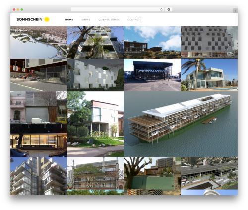 Template WordPress Domik - sonnschein.com
