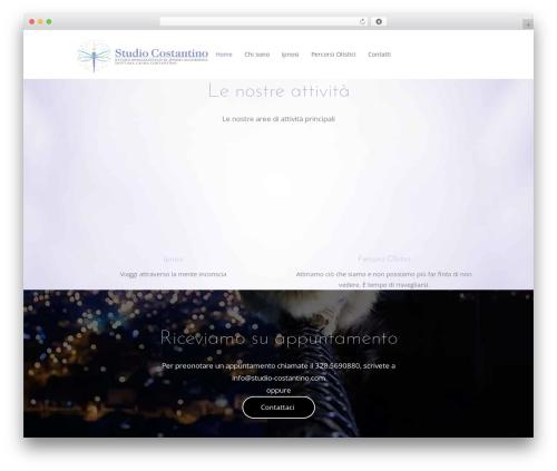 Wellspring theme WordPress - studio-costantino.com