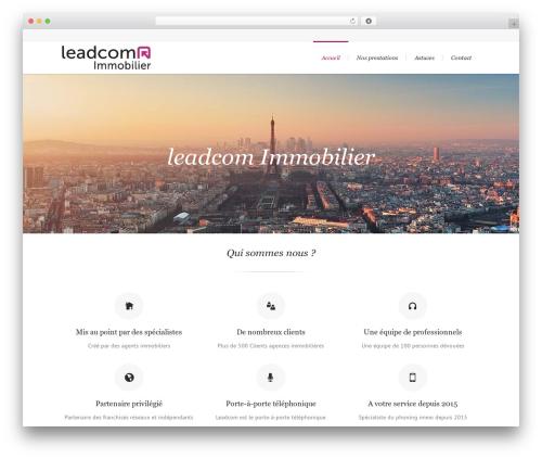 WP template Lounge - leadcom-immobilier.com