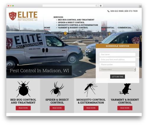 WP template Elite - elite-pests.com