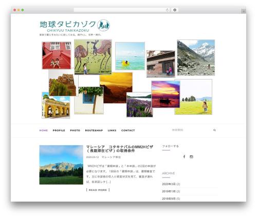 Activello free website theme - tabikazoku.com