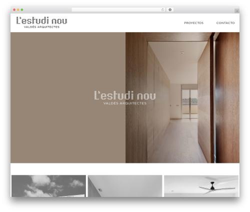 Neve WordPress page template - estudinou.com