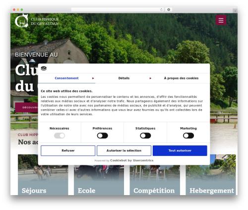 Theme BMS WP theme - club-hippique-gevaudan.com