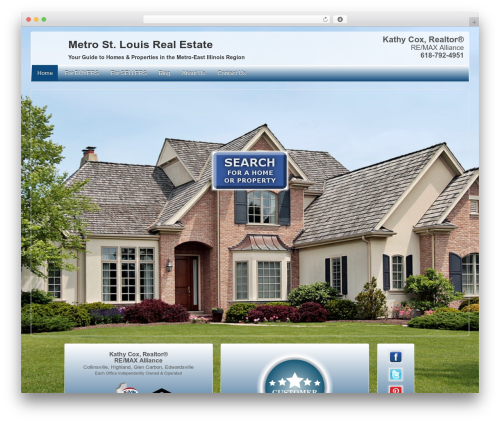 Theme WordPress Child Of Responsive Theme - metrostlrealestate.com