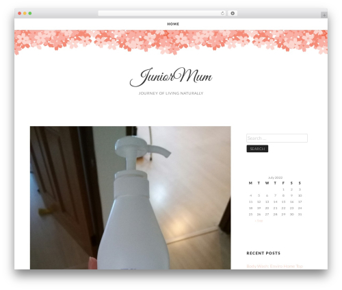 Theme WordPress Germaine - juniormum.com
