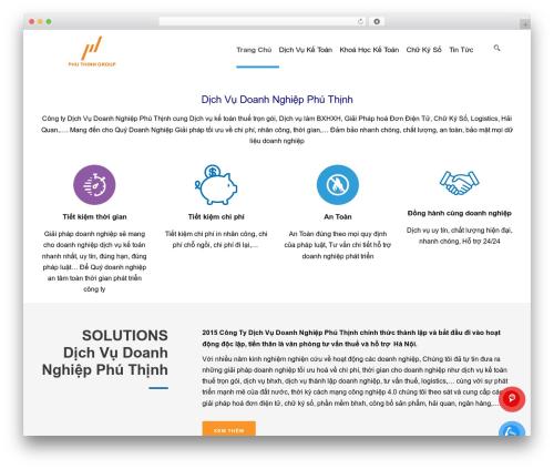 TotalBusiness company WordPress theme - dichvu-ketoan.com