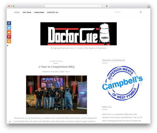 Activello WordPress template free - doctorcuebbq.com