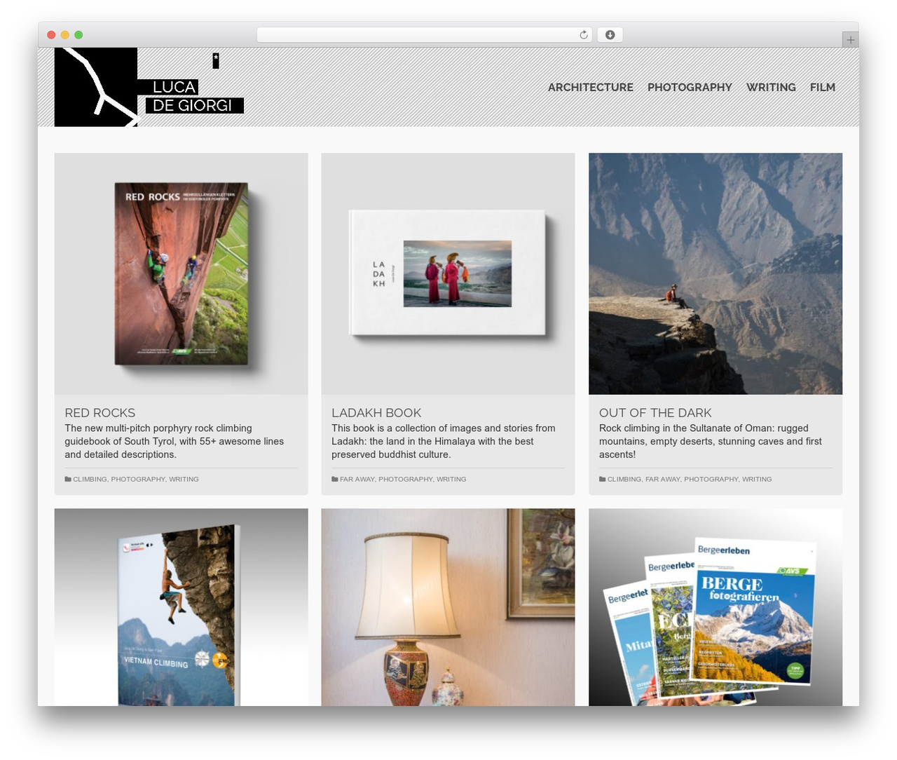 Pinnacle WordPress theme download - lucadegiorgi.com