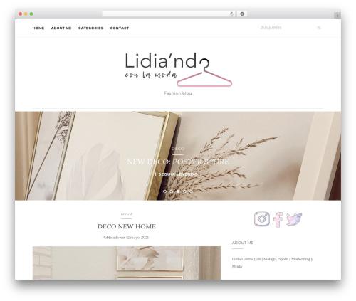 WordPress theme Activello - lidiandoconlamoda.com