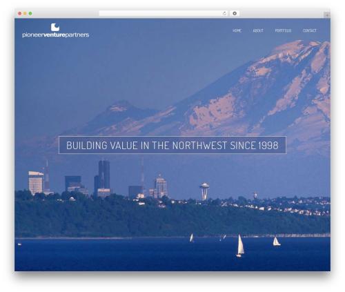 WordPress theme Nation - pvpartners.com