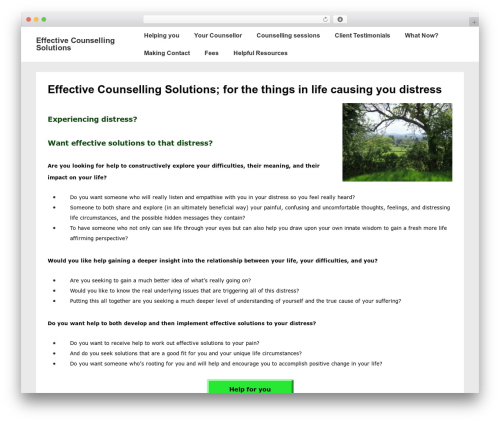 Responsive WordPress theme free download - effectivecounsellingsolutions.com