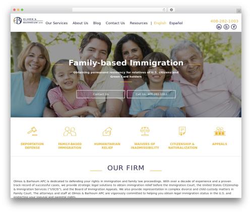 Template Pixelwebsource premium WordPress theme - olmosbarhoumlaw.com