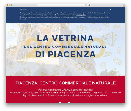 Pointfinder WordPress website template - vitaincentroapiacenza.com