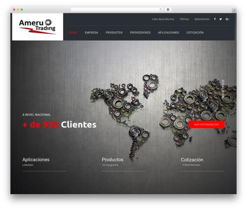 Theme WordPress TheBuilt - ameruperu.com