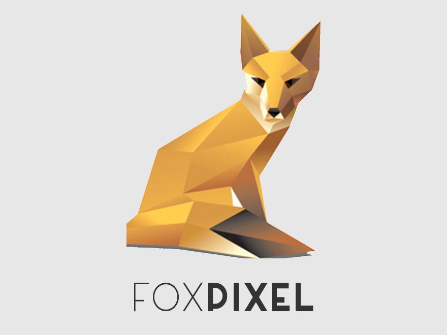 WordPress template FoxPixel
