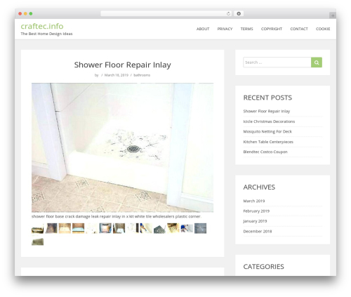 ShowMe WordPress page template - craftec.info