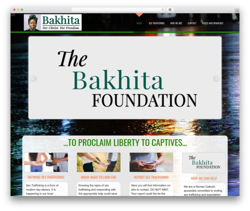 D5 Business Line Extend company WordPress theme - thebakhitafoundation.com