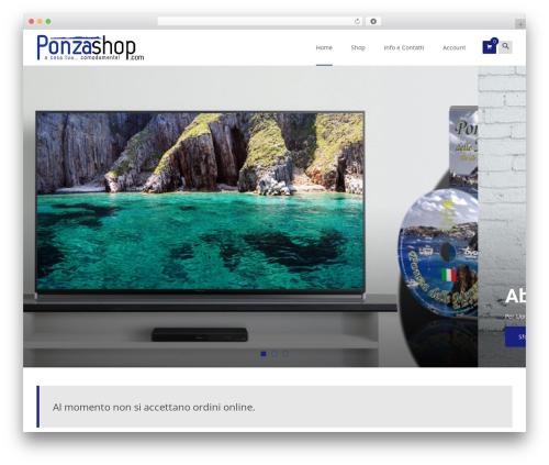 i-craft WordPress page template - ponzashop.com