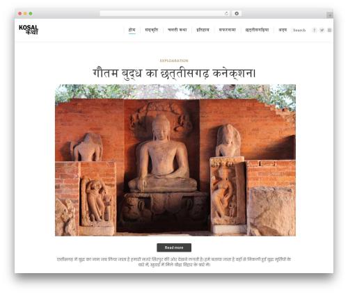 The7 best WordPress theme - kosalkatha.com