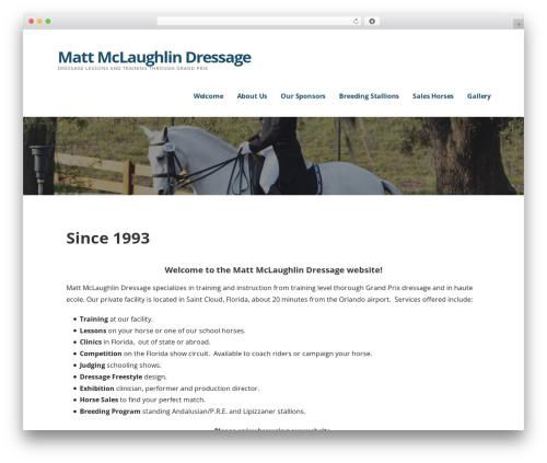 Ascension WordPress page template - matt-mclaughlin.com