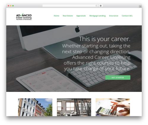Best WordPress template Ascension - advancedcareerlicensing.com