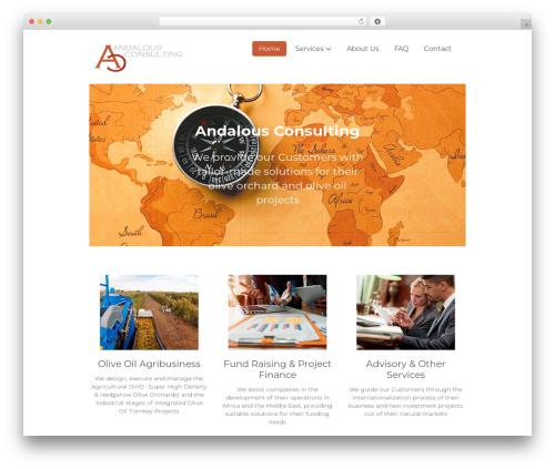 GeneratePress WordPress template free - andalousconsulting.com