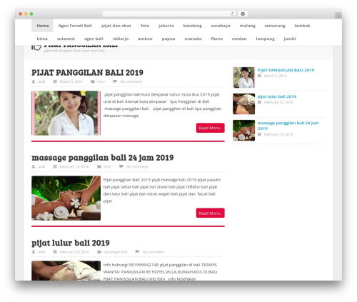 ktz freak theme WordPress - pijatsehatbali.com