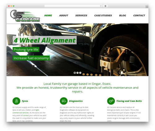 Theme WordPress The7 - gscarcare.com