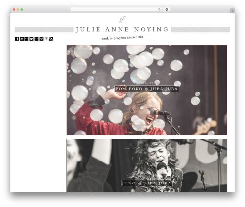 ZeroGravity WordPress photo theme - julianeschuetz.com