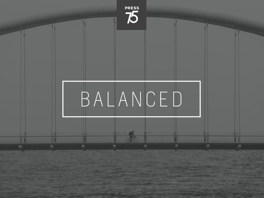 Balanced personal blog WordPress theme