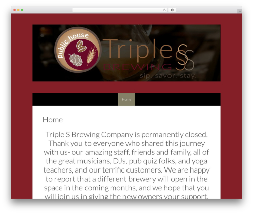 Freelancer template WordPress free - triplesbrewing.com