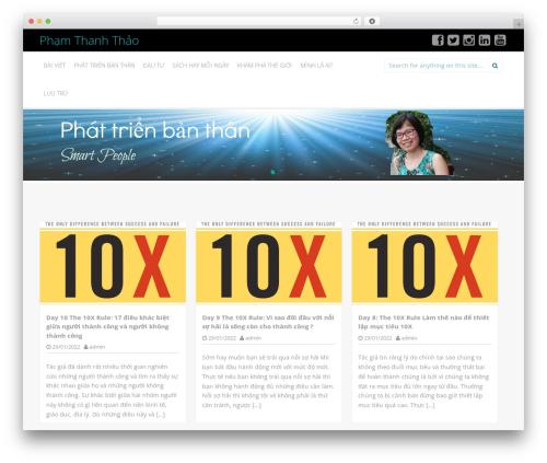 Inkness WordPress theme - thithanhthaopham.com