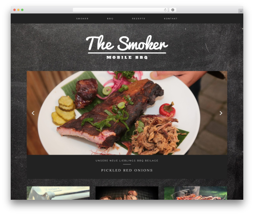 Kindred theme WordPress - thesmoker.at